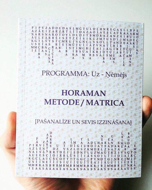 Horaman prāta matrica pašanalīzei